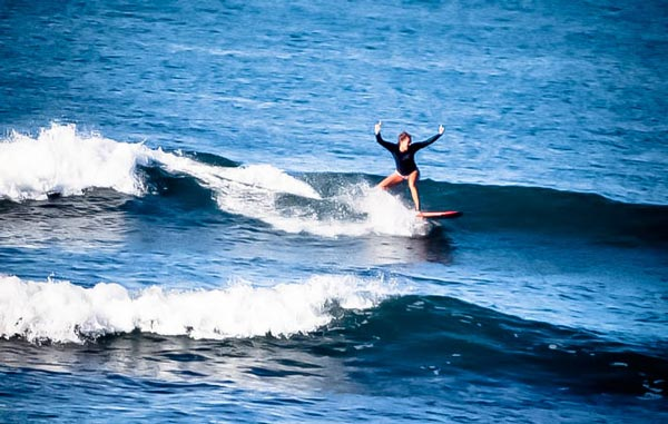 Level One - bali surf lessons